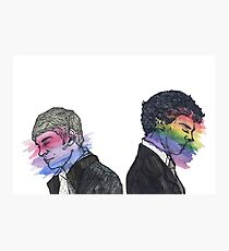 True Colors Sherlock and John Photographic Print
