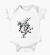 Alice in Wonderland White Rabbit One Piece - Short Sleeve