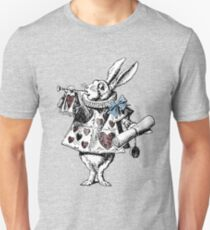 Alice im Wunderland White Rabbit Unisex T-Shirt