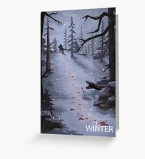 The Last of Us - Winter Greeting Card