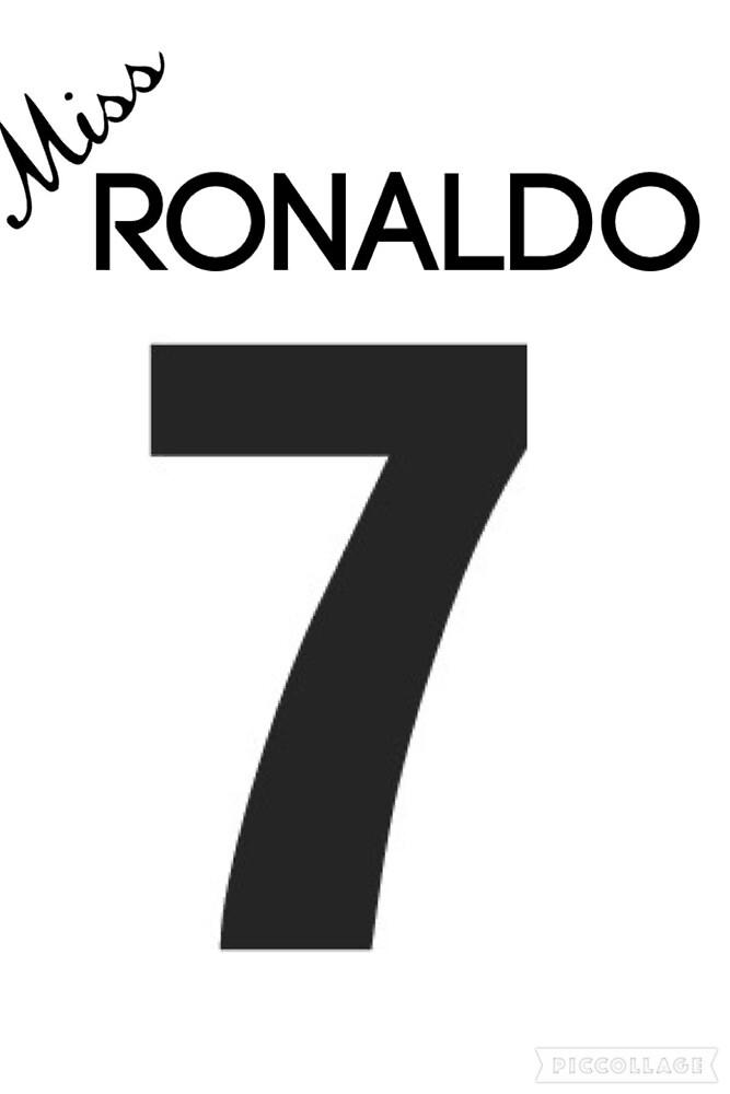 Miss Ronaldo by hurricane-art