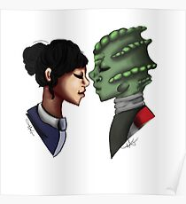 Madame Vastra and Jenny Poster