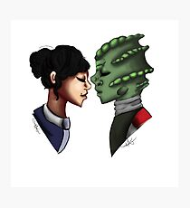 Madame Vastra and Jenny Photographic Print