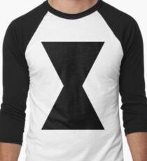 Monochromatic Heroes #3 Men's Baseball ¾ T-Shirt