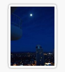 Highrise moon Sticker
