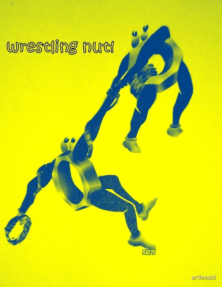Wrestling nut!  by artleesid