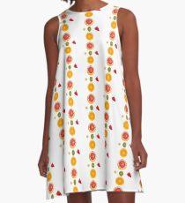 Tutti Frutti  A-Line Dress