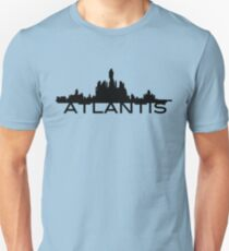 Atlantis Skyline Unisex T-Shirt