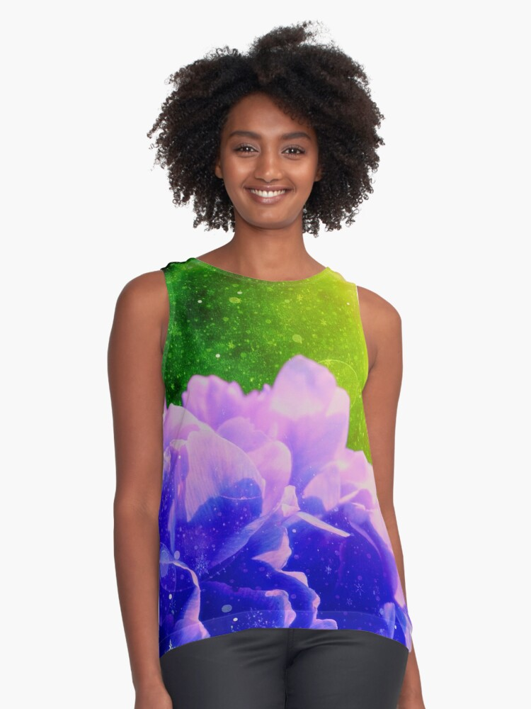 Awesomerose Contrast Tank Front