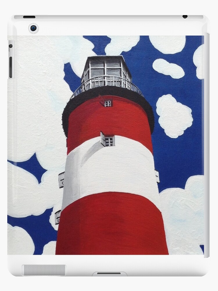 Plymouth Lighthouse by Ann Biddlecombe