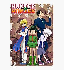 Hunter x Hunter poster Photographic Print