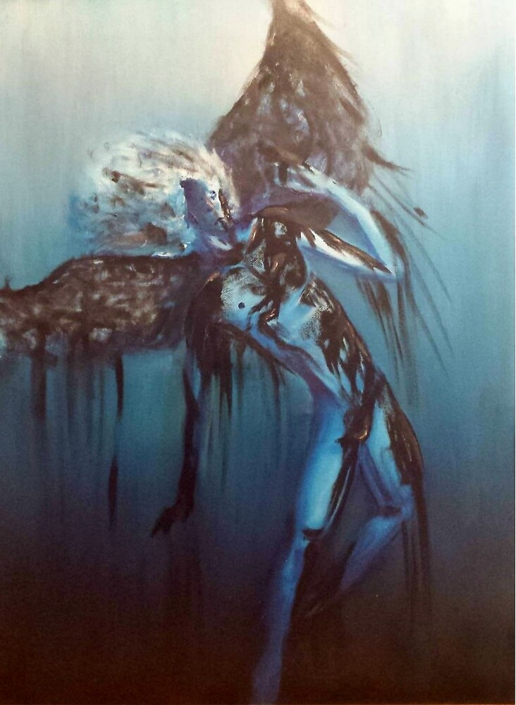 Oily Blue Icarus by RocketPluto