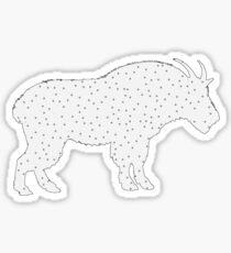 Wild Goat Sticker
