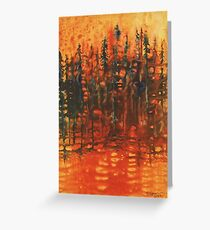 Forest Glow #3 Greeting Card