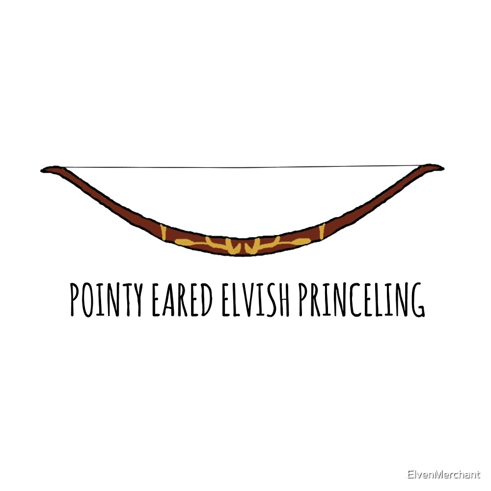 Pointy Eared Elvish Princeling by ElvenMerchant