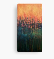 Forest Glow #2 Canvas Print