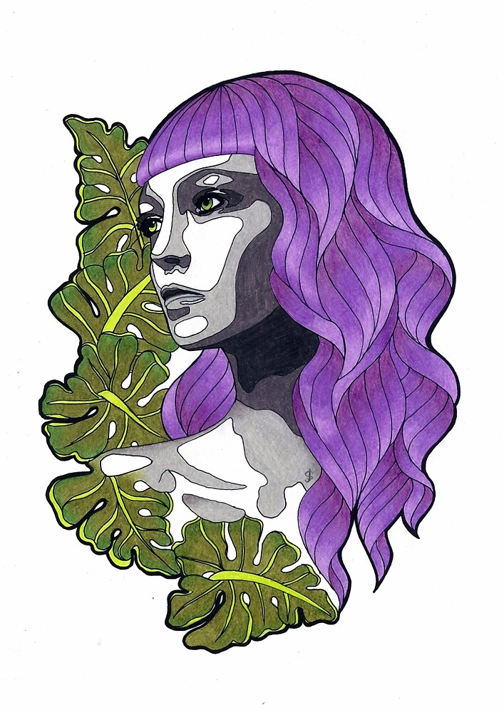 Femme Botanica - Liquorice by janestradwick