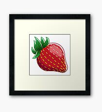 Sweet Strawberry Framed Print