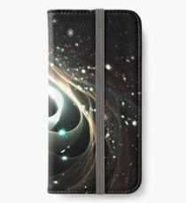 Cradle of a universe iPhone Flip-Case/Hülle/Skin
