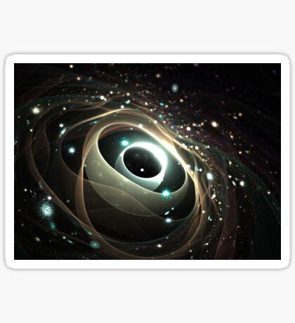 Cradle of a universe Sticker