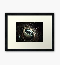 Cradle of a universe Framed Print