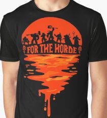 Wow - For The Horde Graphic T-Shirt