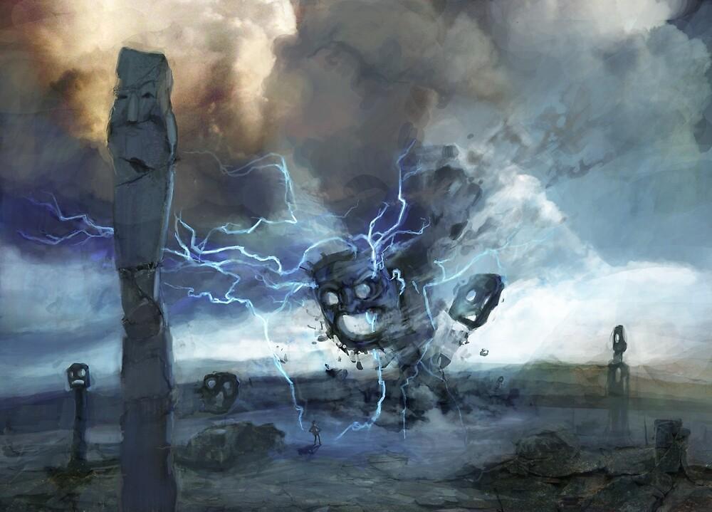 Storm on Olympus von Daniela  Illing