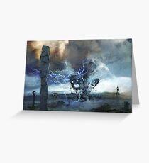 Storm on Olympus Greeting Card