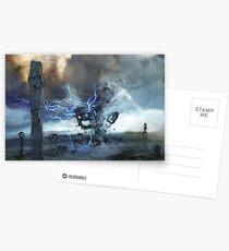Storm on Olympus Postkarten