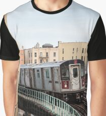 Incoming Number 2 Train Graphic T-Shirt