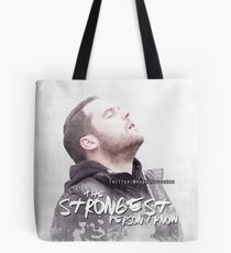 Aaron - The Strongest Person Tote Bag