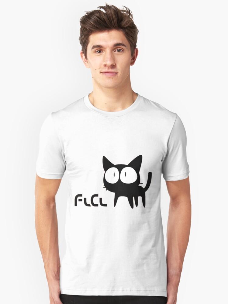 FLCL - Cat Unisex T-Shirt Front