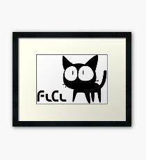 FLCL - Cat Framed Print