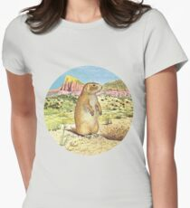Prairie Dawg Womens Fitted T-Shirt
