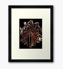 Book Flower Framed Print