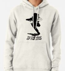 Winter Soldier - End of the Line - Silhouette (B) Hoodie