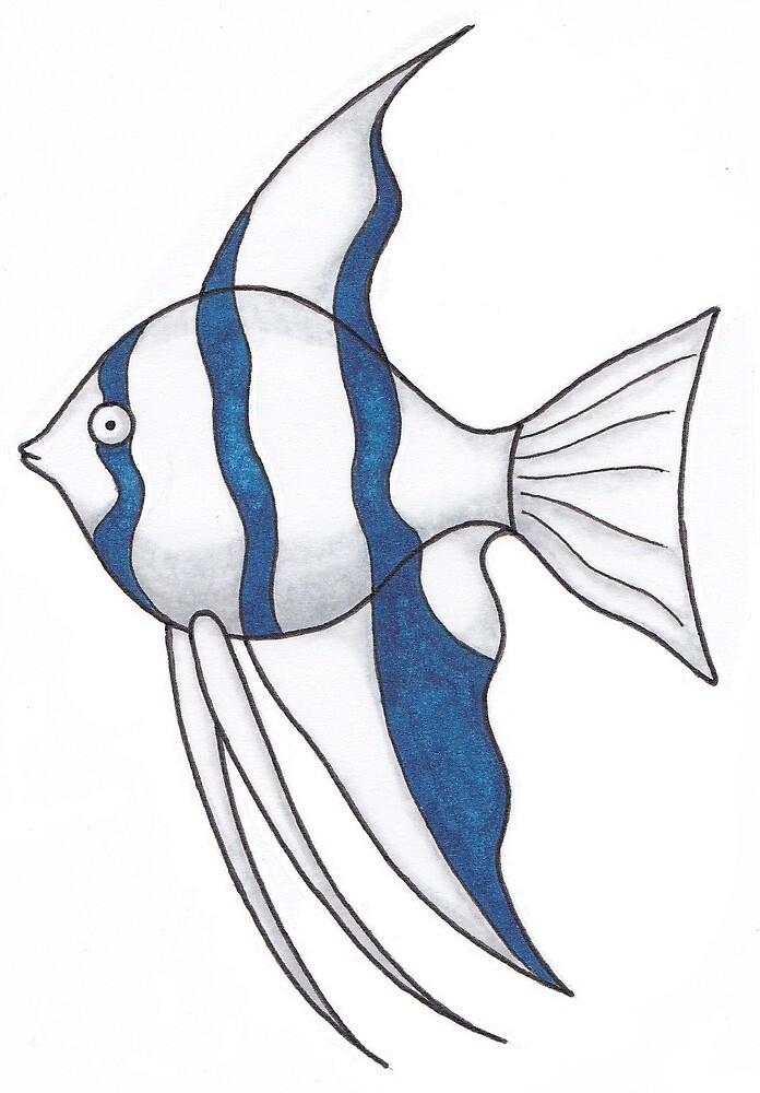 Fish striped by KiboriArt
