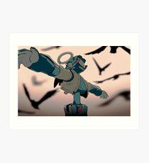 FLCL - Canti Angel Art Print