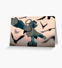 FLCL - Canti Angel Greeting Card