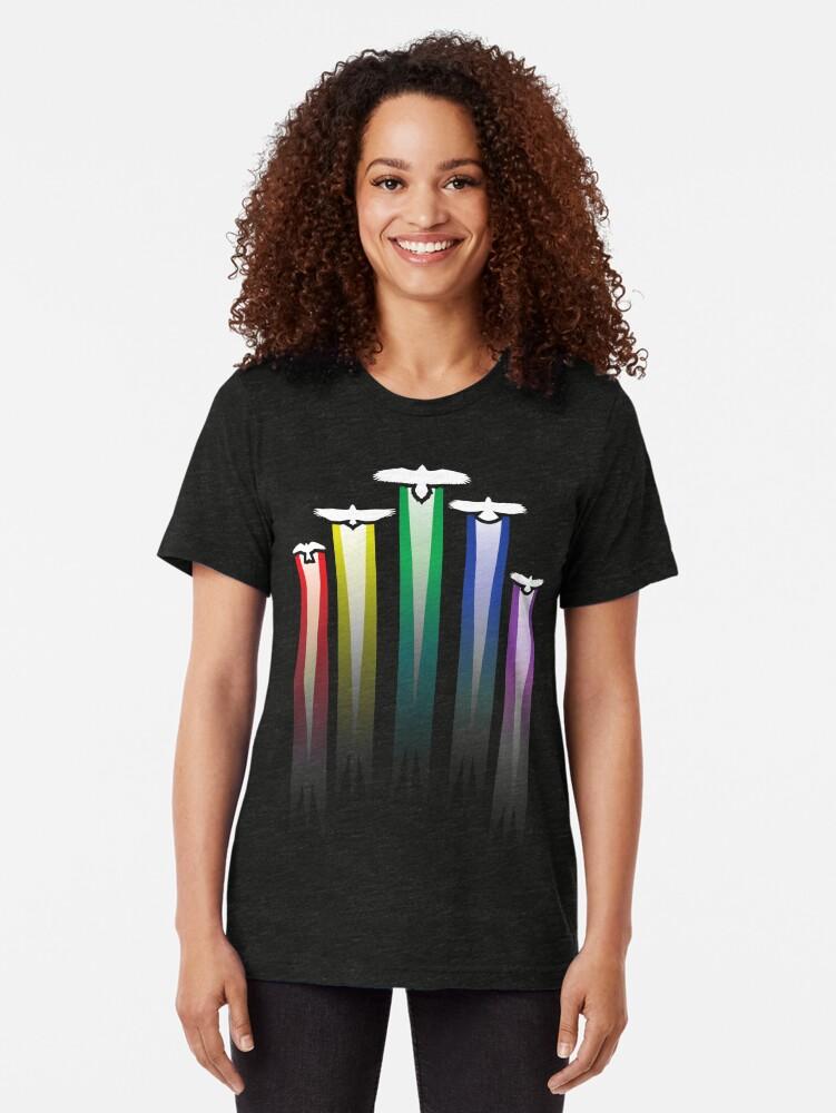 Alternative Ansicht von Raubvögel Vintage T-Shirt