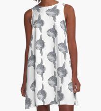 Mondfisch A-Linien Kleid