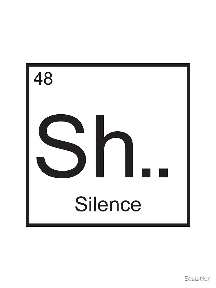 The element of Silence by StewNor
