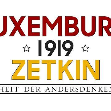 Rosa Luxemburg - Clara Zetkin - 1919  by rosaluxemburg