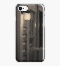 Rainy Night Motel II Toned iPhone Case/Skin