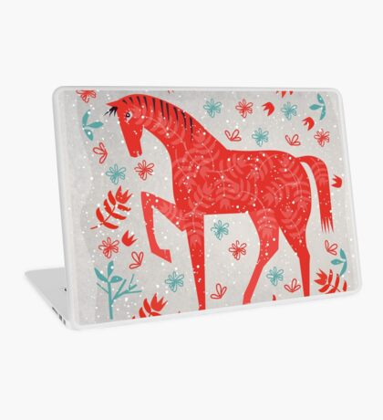 The Red Horse Laptop Skin