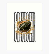 Cruiser - Cougar Art Print