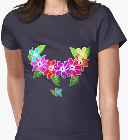 Aloha tiki flower power t-shirt design. T-Shirt