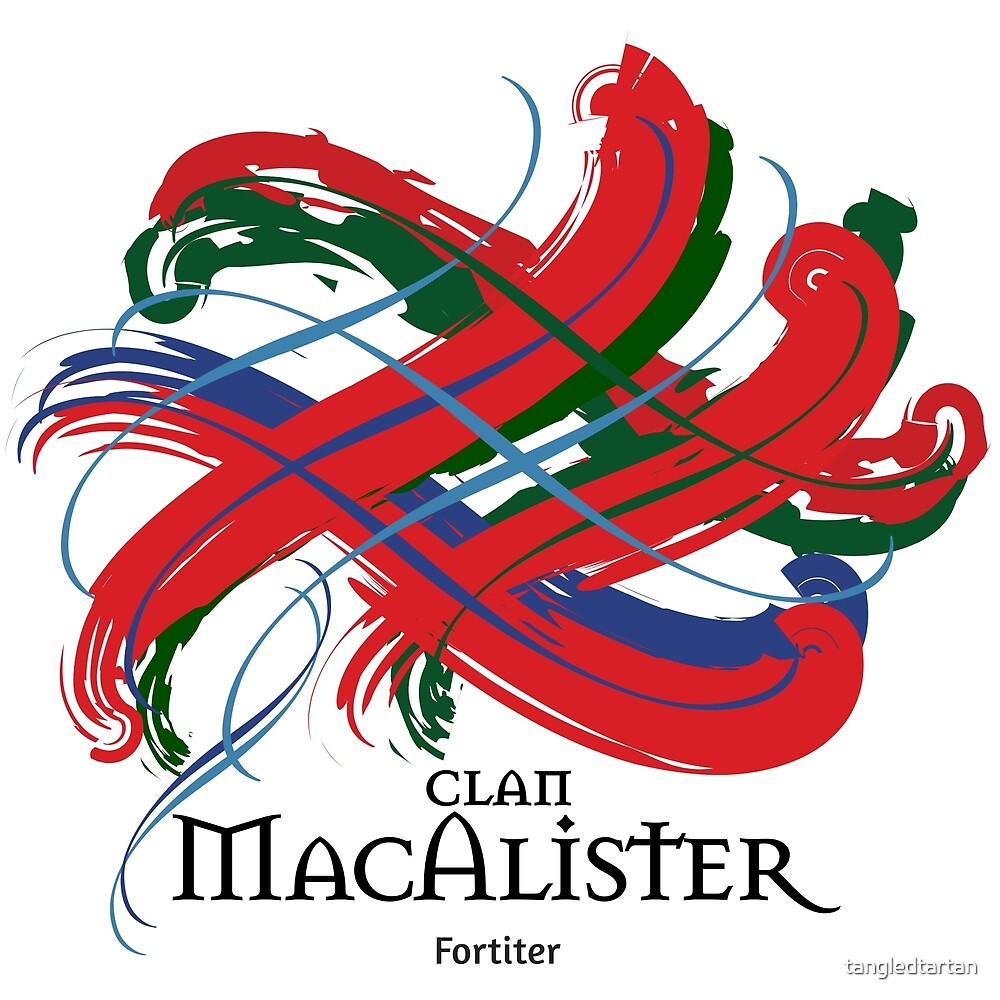 Clan MacAlister  by tangledtartan