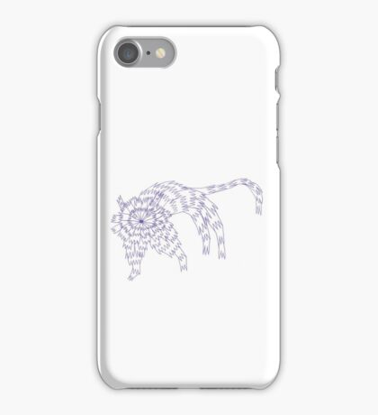 Zaggy Cat iPhone Case/Skin