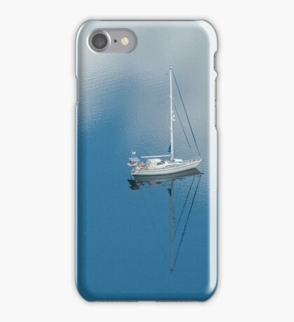 Anchored in a cloud iPhone Case/Skin